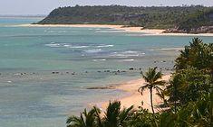 Guia de praias - Costa do descobrimento. BA. Brasil