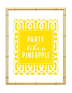 It's Friday! Party Like A Pineapple