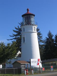 Umpqua River Lighthouse , Winchester Bay, Oregon