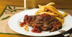 Σε μια ήσυχη γειτονιά της Καλλιθέας άνοιξαν οι «Ελιές» Steak, Restaurants, Food, Essen, Steaks, Restaurant, Meals, Yemek, Eten
