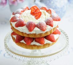 I always have a Strawberry Shortcake if I can on my birthday...