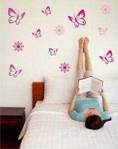 adesivos de parede de borboleta 5
