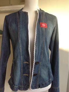 jeansjasje pimpen, restyle your jeans jacket!!