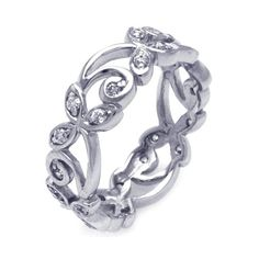 Sparkling Band of Leaves CZ Ring Size 6 (Sizes 5 6 7 8 9 Available) Silver Brilliance,http://www.amazon.com/dp/B00E0KY0DO/ref=cm_sw_r_pi_dp_KQZVsb18A1186CJ5