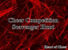 Cheer Competition Scavenger Hunt is a fun article with ideas for a photo scavenger hunt team bonding activity you can use at competition.
