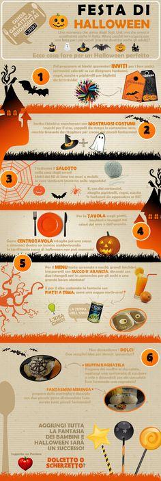 """Guida galattica per Buongustai"" Cirio Halloween #halloween  #infographic"
