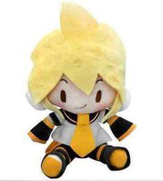 "Kagamine Len Sega Hatsune Miku Vocaloid Vol. 2 Soft Collectible Plush 7"""