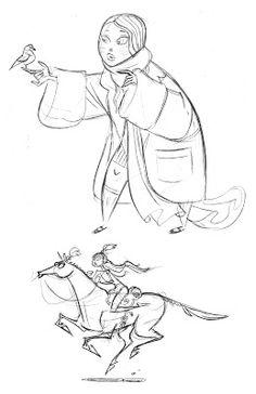 Narnia sketches by Ben Caldwell