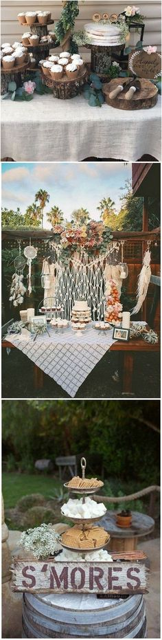 #weddingdecor #weddingideas #weddinginspiration #bohoweddings boho chic wedding food station decoration ideas #weddingdecorationsideas