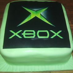 XBOX cake - For all your cake decorating supplies, please visit craftcompany.co.uk