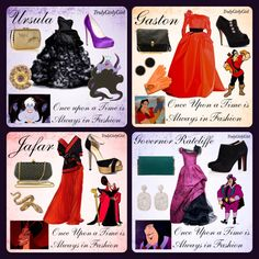 Disney Villain Fashion 3