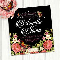 Black & Pink Flower theme