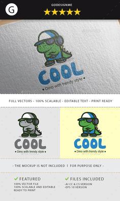 #Cool Logo - #Animals #Logo Templates Download here: https://graphicriver.net/item/cool-logo/19738579?ref=alena994