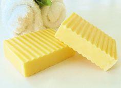 SWEET ORANGE & MANGO Natural Soap  large 5 oz soap by crimsonhill, $6.00