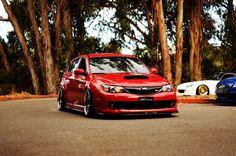 Hellaflush Subaru WRX STI Hot Hatch. Breath taking