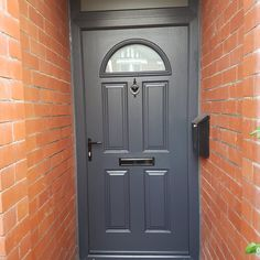 Our classic Eiger composite door in Anthracite Grey never fails to impress. Find your & Pin by Rudy Ramirez Mencos on metal Art! | Pinterest | Doors Front ...