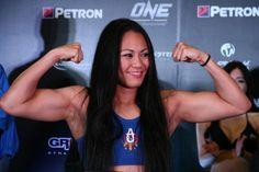 UFC - Ana Julaton #thehurricane #fighting #sports #thecommish #femalefighter #mirfanklin #Ana