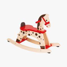 Cheval à bascule Caramel - JURATOYS #LeBonMarche #NoelRiveGauche #Jouet #Jouets #Toy #Toys #noel #christmas #xmas