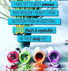 Juice Plus+ provides whole food based nutrition to promote a balanced diet to ensure you get enough servings of fruits, vegetables & grains. For Your Health, Health And Wellness, Juice Plus Capsules, Juice Plus Complete, Doctor Reviews, Body Cells, Different Fruits, Food Challenge, Fruit And Veg