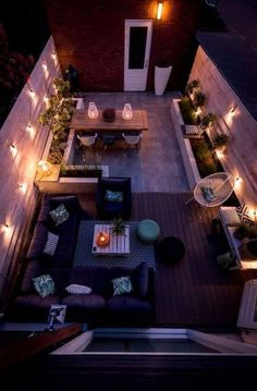 Backyard ideas, create your unique awesome backyard landscaping diy inexpensive on a budget patio - Small backyard ideas for small yards Roof Terrace Design, Rooftop Design, Balcony Design, Garden Design, Backyard Ideas For Small Yards, Small Backyard Landscaping, Landscaping Ideas, Rooftop Terrace, Terrace Garden