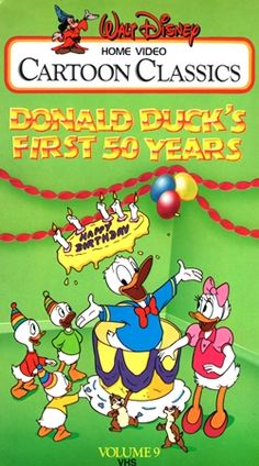 Disney Shorts - VHS Video - Cartoon Classics : First Series ...