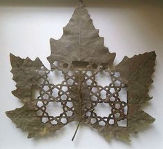 Amazing Leaf Art by Lorenzo Duran - YeahMag