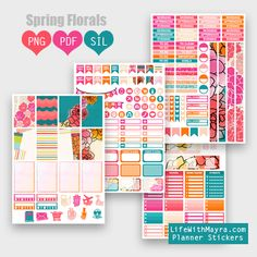 lifewithmaya.com | free planner stickers, printable stickers, the happy planner, silhouette cut files, erin condren, michaels stickers, hobby lobby