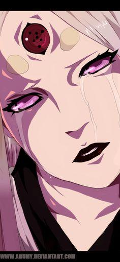 Naruto manga 681 Kaguya cry by Arumy