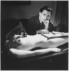 Just realised my office desk is boring compared to the one of Salvador Dali