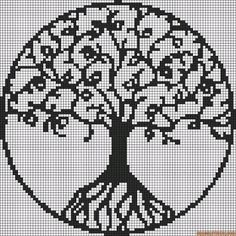 "Image result for celtic tree of life ""cross Stitch patterns"""