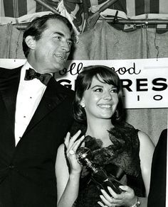 Natalie Wood and Gregory Peck