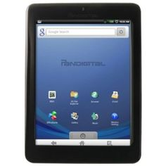 The Pandigital Multimedia Novel 7  ANDROID Multimedia Tablet & Color eReader. 2GB internal memory. Black.