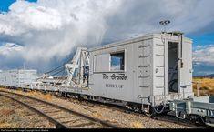 RailPictures.Net Photo: DRGW OP Denver & Rio Grande Western Railroad Steam Derrick at Antonito, Colorado by Kevin Madore