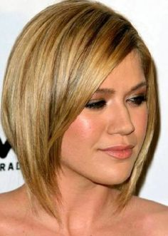 medium length hair styles for women with thick hair 2
