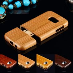 Fashion Natural Wooden Wood Bamboo Phone Case For Samsung Galaxy S7 /S6 + /Note