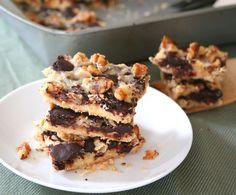 Magic Cookie Bars 6 @dreamaboutfood