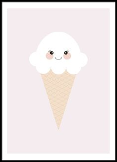 Ice Cream Pink, posters