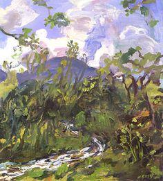 Up Hidden Creek - Adele Alsop