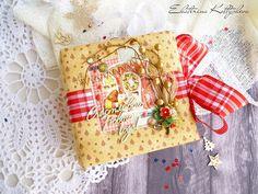 "Paper miracles: Новогодний мини-альбом ""Счастливого нового года!"""