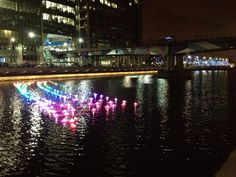 @Carolina Sterzi @The ARC Show #Londonlights #Canarywharf