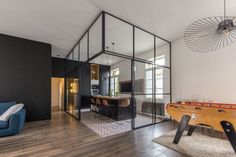 Apartment Renovated by Brengues le Pavec Architectes Located in Montpellier, France