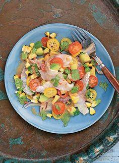 Gizzi Erskine recipe | Ceviche with yuzu, sesame and kumquats