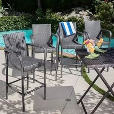 Looking for Christopher Knight Home 301205 Delfina Outdoor Wicker Barstools (Set Gray ? Check out our picks for the Christopher Knight Home 301205 Delfina Outdoor Wicker Barstools (Set Gray from the popular stores - all in one. Patio Furniture Covers, Wicker Patio Furniture, Patio Chairs, Outdoor Furniture Sets, Outdoor Decor, Gray Furniture, Basement Furniture, Furniture Nyc, Furniture Dolly