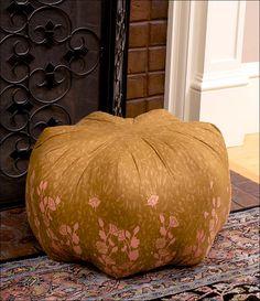 Asian Ottoman Floor Cushion  Pattern & Tutorial