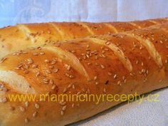 Kefírové bagety Hot Dog Buns, Hot Dogs, Kefir, Bread, Food, Brot, Essen, Baking, Meals