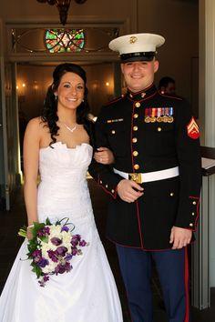 Marine Corp Wedding