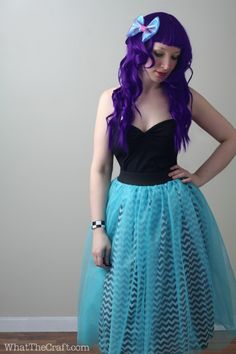 How To Sew A Peekaboo Tulle Skirt – Sewing Tutorial « DiY crafts, free sewing tutorials & kickass clothing patterns – WhatTheCraft.com