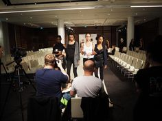 #OlympusPENgeneration  Catwalk show in MELONDON