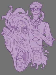 nazi-nurse:  theferalyouth:  An in-progress design for the WTNV t-shirt contest. o: c:  This Cecil is adorable