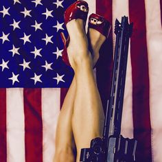 """God Bless America!"" @cobaltkinetics #artistryattitudeperformance #AR15 @chamberedusa @rainierarms @gunpointmfg @elite_weaponry @chummerz @athena_gun_club #sickguns #america #GUNS #godblessamerica @sickguns"